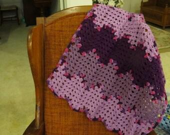 Multi Shades of Purple Blanket