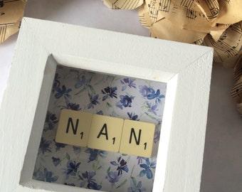 Mum*Nan* Mini Frame