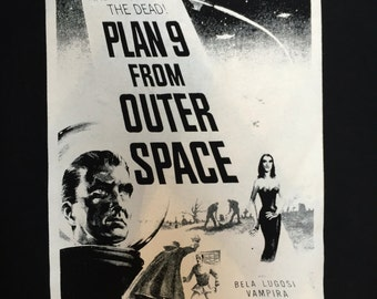 Plan 9 from outer space shirt