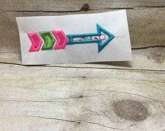 Arrow Embroidery Design, Arrow Applique, Arrow Embroidery Applique
