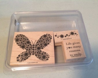 Stampin' Up Reason to Smile Gently Used