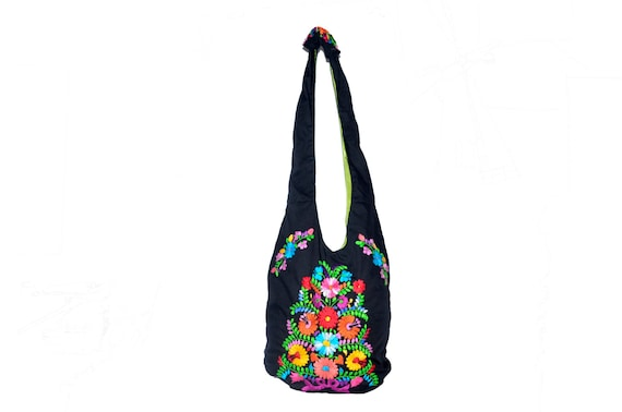 Mexican bag embroidered