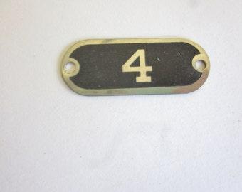 Vintage Locker Number 4.  Repurposing Jewelry  PatriciaInExcess S 317