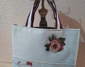 "Open purse ""Jolie Fleur"""