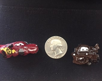 3D X Ray Markers: Cars- Lightning McQueen & Tow Mater