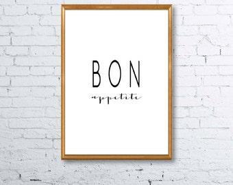Bon Appetite Print