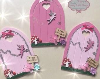 Handmade fairy doors