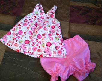 Fun Pink 2 Piece Play Outfit