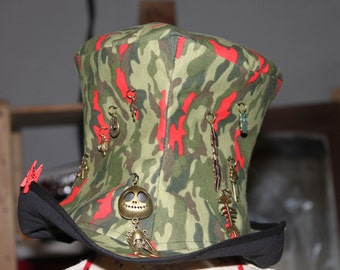military top hat