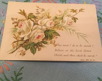Vintage religious quote cards