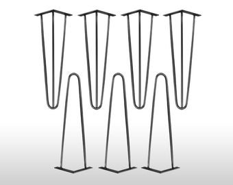 4 x hairpin legs legs leg 35 cm hair pin legs mid century table