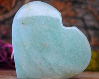 Amazonite Crystal Heart  - 936.75