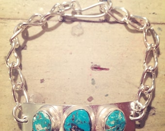 Turquoise ID Bracelet