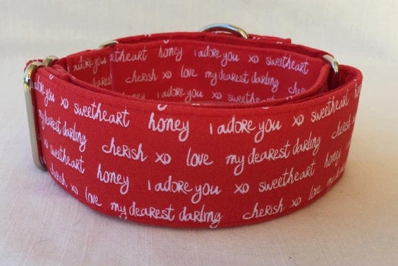 Valentines Dog Collar AU