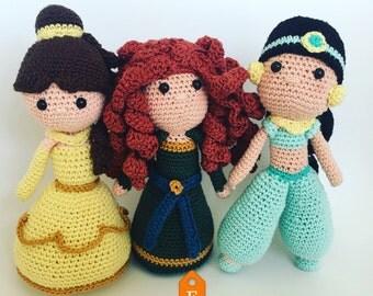 Princess 3 pack ! English pattern