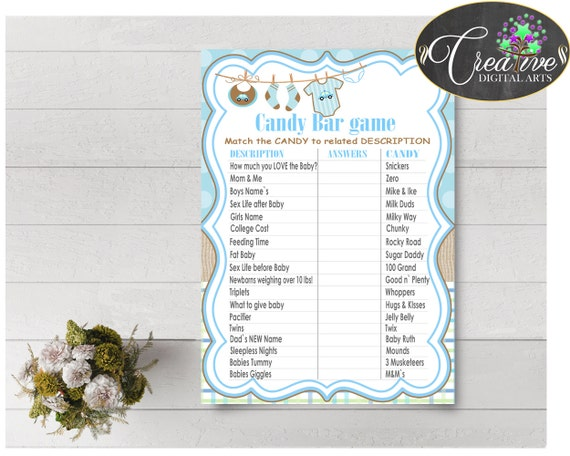 Baby Shower Special Clothes Baby Shower Snickers Questions Answers