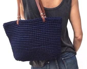 Bag Tote Crochet Buzios