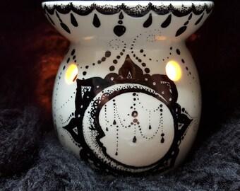 HandMade Moon Candle Holder Wicca Bohemian