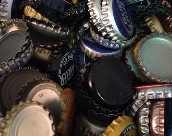 Items similar to silver bottle cap 4x6 picture frame on etsy for Beer bottle picture frame