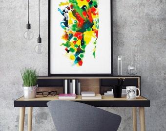 Miami - Fine Art Giclée Print