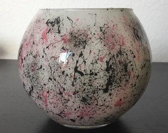 Color splash vase