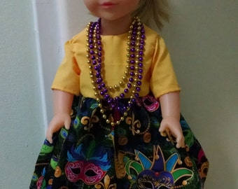 18 in doll's dress