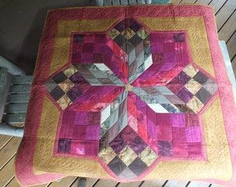 3-D Star quilt