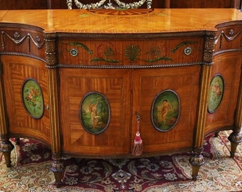 Items similar to sold vintage french provincial buffet for Sideboard qr