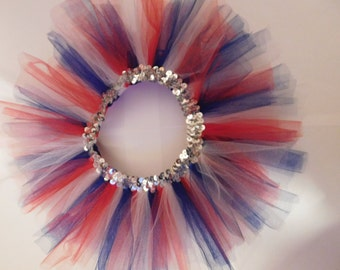 Baby Girl Red, White & Blue TUTU!