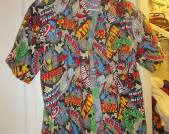 Marvel Comics Men's/Boy's Shirt