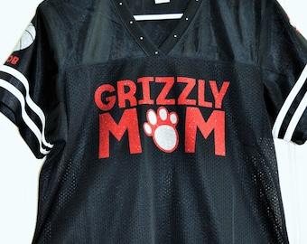 Team Mom Personalized Sports Nylon Jersey