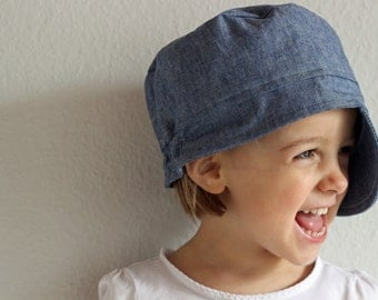 Michel hat made organic jeans