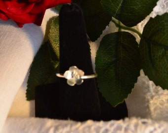 argentium silver ring