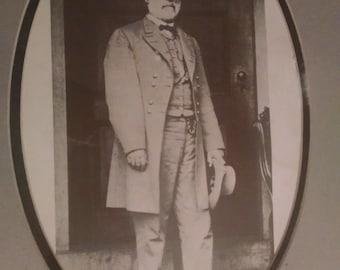 Vintage print of Robert E. Lee