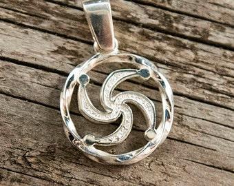 Genus Charm. Slavik pendant. Tribal protective amulet.