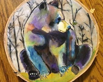 Custom Animal Paintings on Wood
