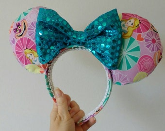 Alice in Wonderland / Cheshire Cat Mouse Ears