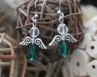 #175 graceful Angels earrings