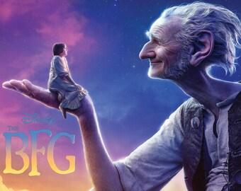 Disney's BFG 2016 Movie Poster