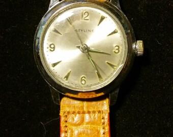 Vintage Styline mens watch swiss made