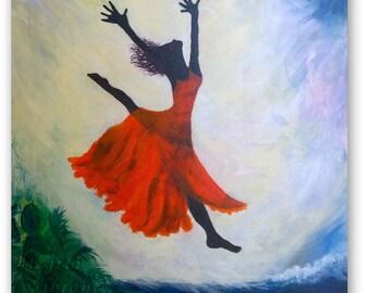 Lightness (Acrylic Painting)