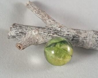 Resin - botanical jewelry, pendant with genuine inlaid plant (36) - resin