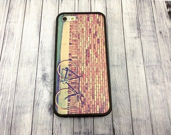 heat painting covers vintage bicycle iphone case fit iPhone 4 4s 5 5s SE 6 6s