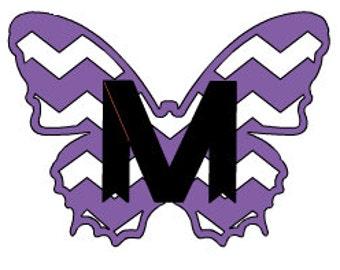 Butterfly 2 Monogram