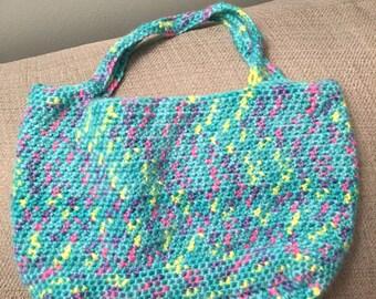 Child sized top handle handbag