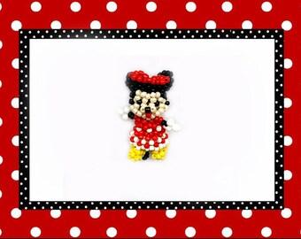 Handemade keychain Minnie Mouse