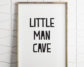 Man Cave Wall Decor little man cave | etsy