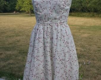 vintage rosebud dress