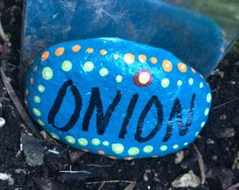 Onion garden marker