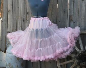 extra full ruffled petticoat
